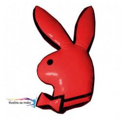 Vankúšik PLAYBOY Red zajačik 55cm TI-11674