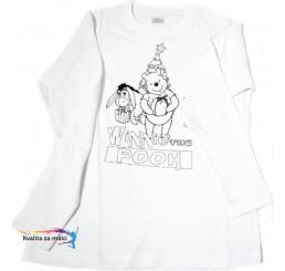 Vymaľuj si tričko Macko Pooh