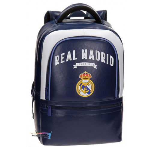 4472053f27 Batoh na notebook Real Madrid Vintage 100% PU 31x44x15