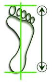 návod veľkosť obuv